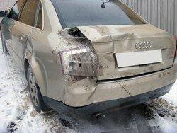 Кузовной ремонт Audi, покраска машины