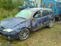 Ремонт кузова, покраска авто Renault Megane